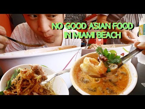 [Best Asian Restaurant In Miami, Florida] Miami South Beach Travel Vlog