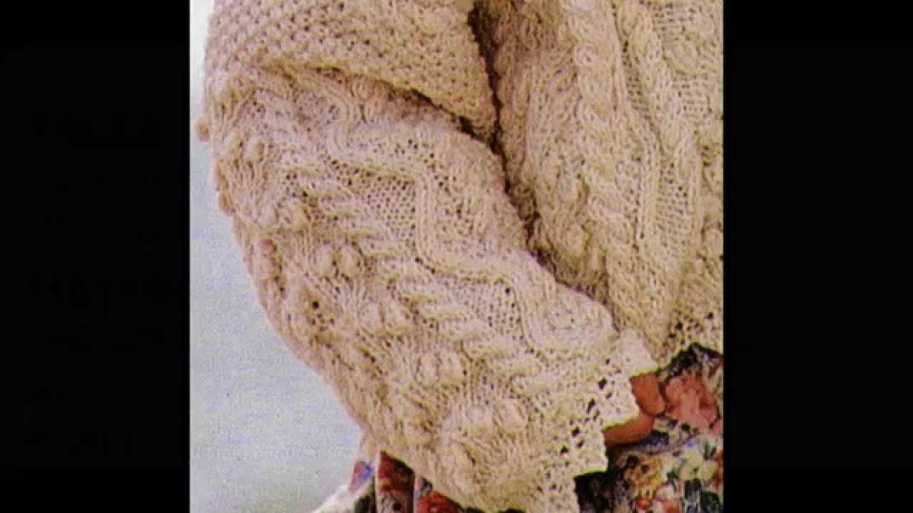 Patrón para tejer suéter para niña a 2 agujas - YouTube