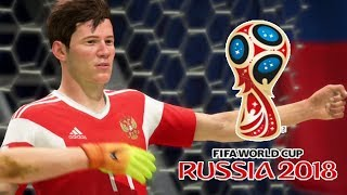Мэддисон тащит сборную России к победе в FIFA WORLD CUP RUSSIA 2018