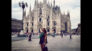Milan vlog: Hotel Room Tour, Duomo, shopping in Rinascente and Excelsior Milano