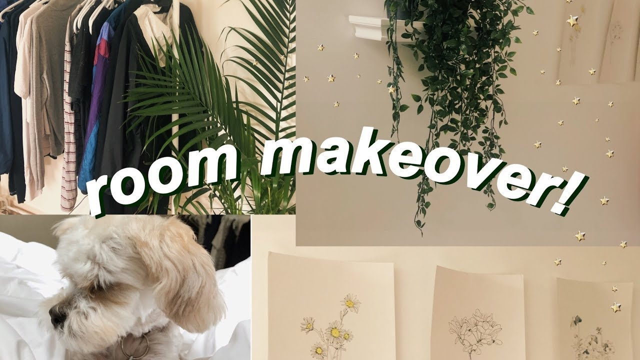 EXTREME BEDROOM MAKEOVER + TOUR 2019 🌻