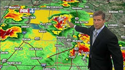 Fox 4 News 930 pm Friday Weather Update