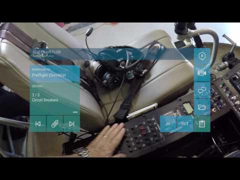 Aerobatic helicopter pilot, Chuck Aaron, using Augmented Reality