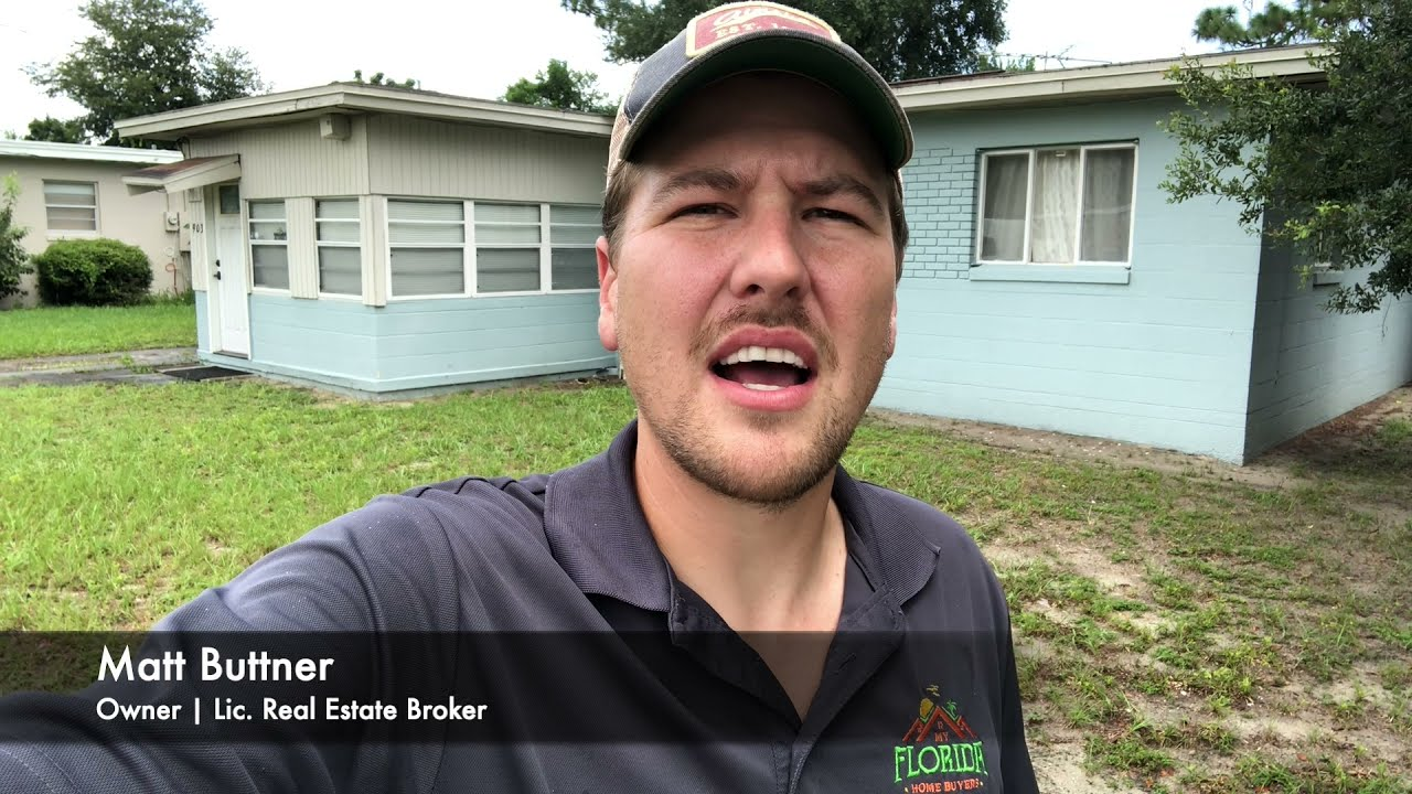 Check out this inherited house we just bought in Orlando!   My Florida Home Buyers