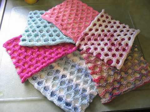 Domino Knitting Blanket Pattern : Free Pattern Domino Baby Blanket - YouTube