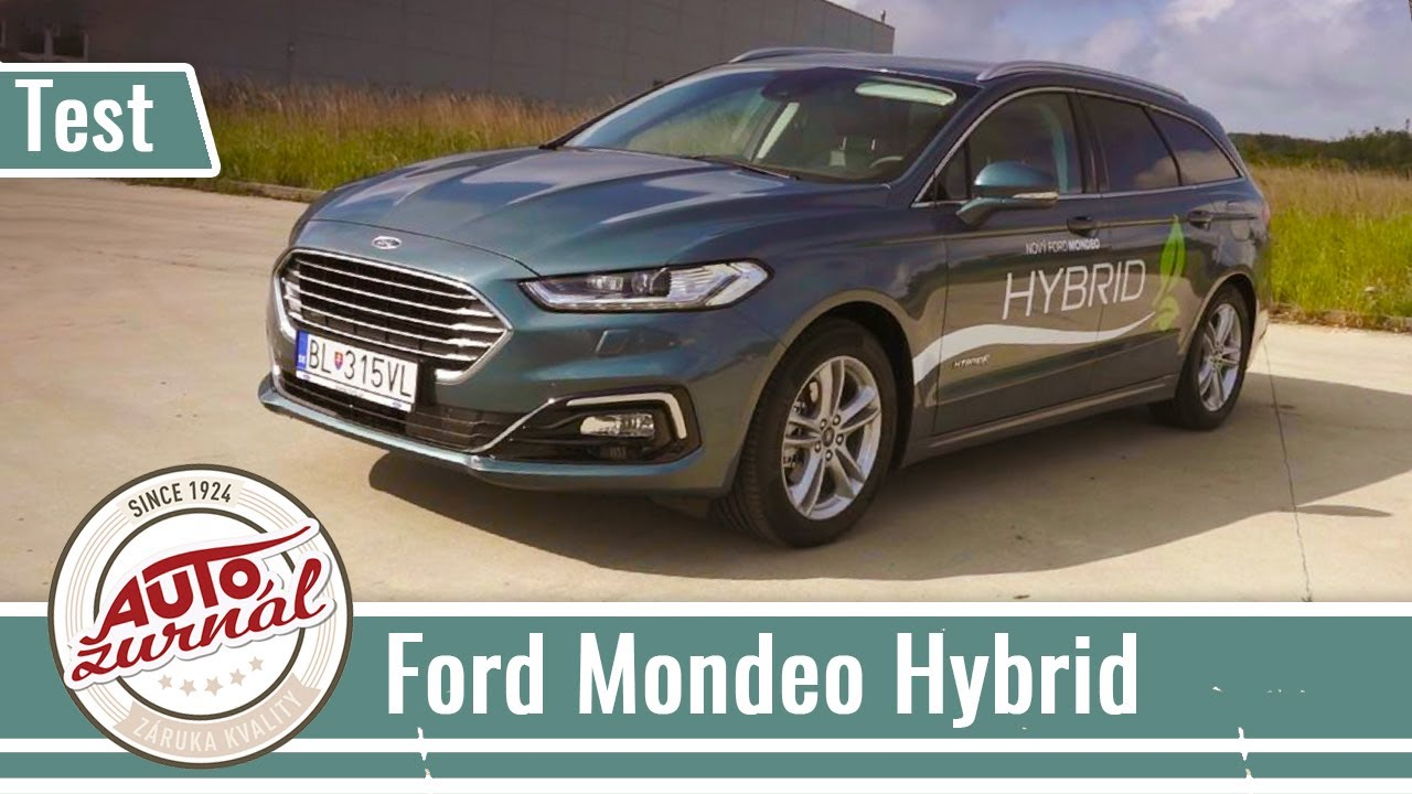 Ford Mondeo Combi Hybrid Test 2019 Hybrid Sa Dostal Do Kombi