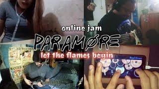 Paramore - Let The Flames Begin |Lockdown Cover|Online Jam| #PARAMORE #TUGSTUPAKK