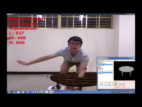 An interactive augmented reality system [ https://sites.google.com/site/aprilabofntu/]