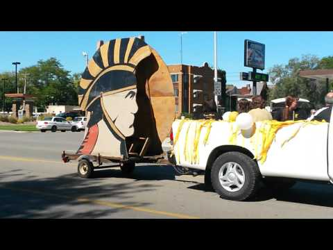 Topeka High School Home Coming Parade 2015