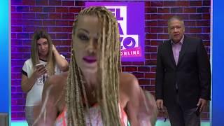 El Arañazo Online 06-28-18. Caliente debate con la actriz porno Angelina Castro.