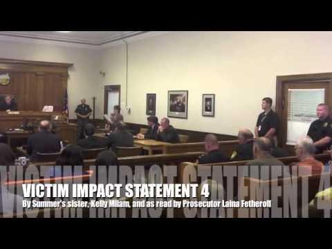 Victim impact statement 4