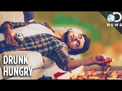 Why Does Food Taste Better When You're Drunk?