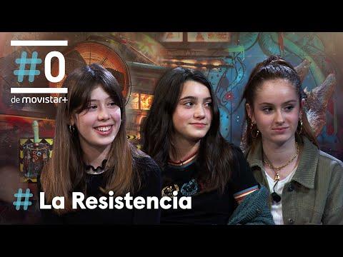 LA RESISTENCIA - Entrevista a Andrea Fandos, Julia Serra y Ainara Nieto   #LaResistencia 18.01.2021