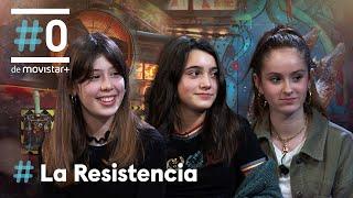 LA RESISTENCIA - Entrevista a Andrea Fandos, Julia Serra y Ainara Nieto | #LaResistencia 18.01.2021