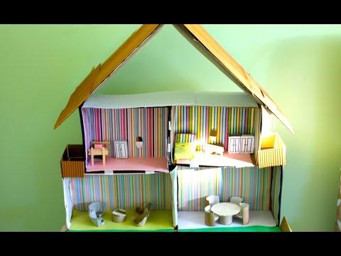 הכנת בית בובות מקופסא