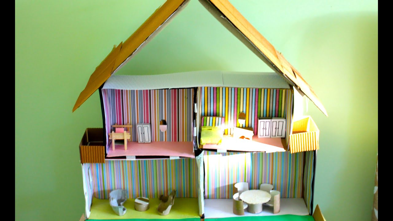 Paper Make Doll House