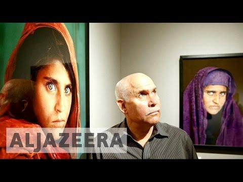 Steve McCurry discusses Sharbat Gula's case