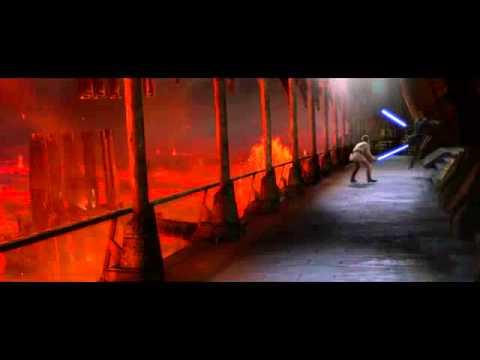 (HD) Anakin Skywalker vs Obi Wan Kenobi