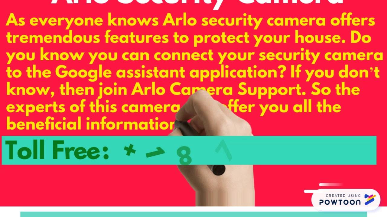 Arlo Customer Service Phone Number 18779846848