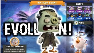Master DedSw1n3 Evolution & New Matilda Event! | Angry Birds Evolution