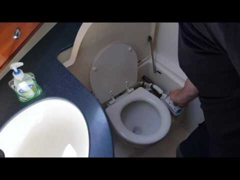 How To Use A Sea Toilet On A Boat - YouTube