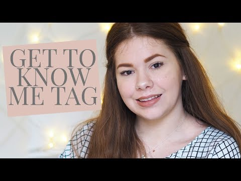 Get To Know Me Tag | Alicia Smith