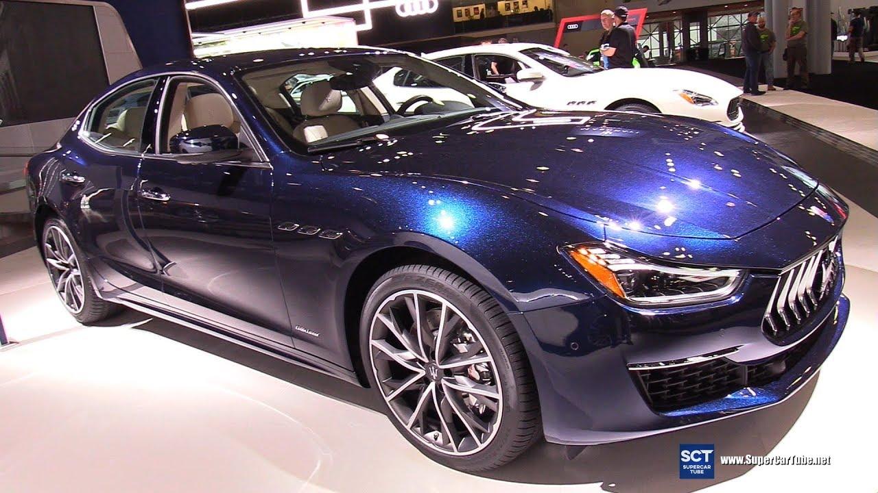 2019 Maserati Ghibli GranLusso , Exterior and Interior Walkaround , 2019  New York Auto Show