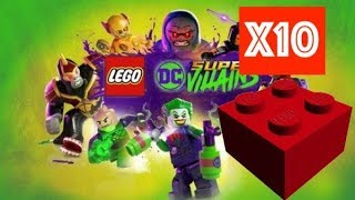 Lego DC Super Villains – Studs x10 Multiplyer Location - You-Kanto-uch this
