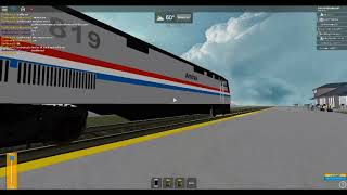 ROBLOX Amtrak Sleeping Car Train at Findlay