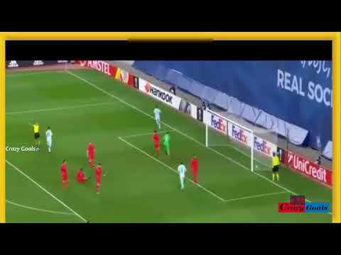 PAREDES Goal! Real Sociedad [1:3] Zenit! European league (07/12/2017) HD