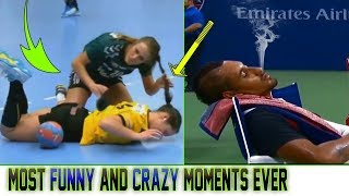 Most Craziest Funny Unique Moments in the Sports History :-)