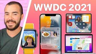 iOS 15, MacOS Monterey, iPadOS 15, watchOS 8 y Más!