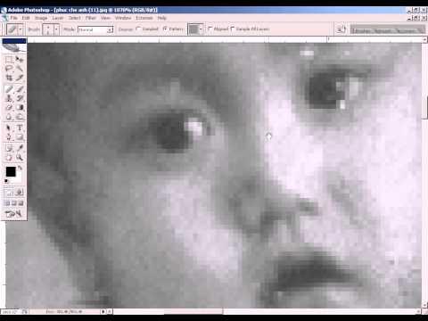 Photoshop CS2 - Phan 14 - Bai 4 - Phuc che anh bi rach nat