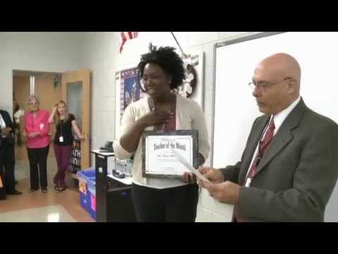 Tonya McIntyre (Academic Magnet High School) - April 2014 Teacher of the Month