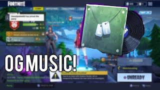How to get the OG MUSIC Without Battle pass season 6 (Tier 92) Fortnite Glitch