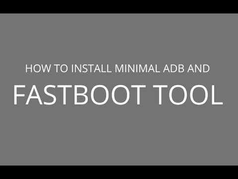 Get Minimal ADB and Fastboot tools for WIN/MAC/Linux