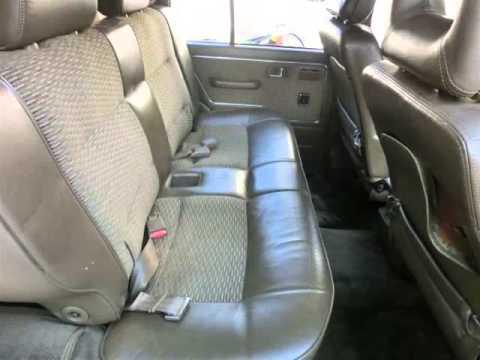 Vancouver Velocity Cars - BC - 1989 Mitsubishi Montero Pajero DIESEL IMPORT TO USA