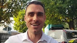 Sébastien Joly (DS Groupama-FDJ) - interview d'arrivée - Tour de Lombardie/Il Lombardia 2018