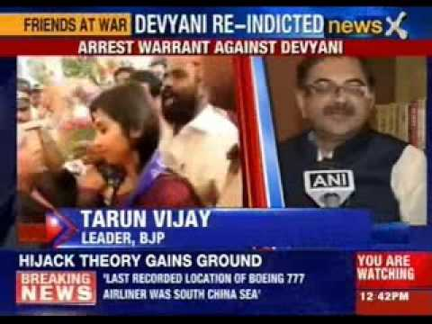 US issues arrest warrant against Devyani Khobragade