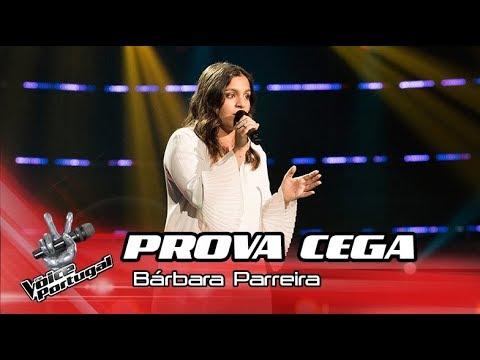 Bárbara Parreira - 'O Tempo'   Prova Cega   The Voice Portugal