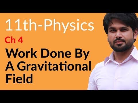 First Year Physics Work Done By Gravitational Field-Chapter 4 Work And Energy- FSC Pre Medical