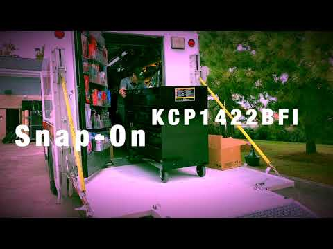 "Snap-On Tool Truck Tour ""Delivery of Snap-On KCP1422BFI Toolbox"