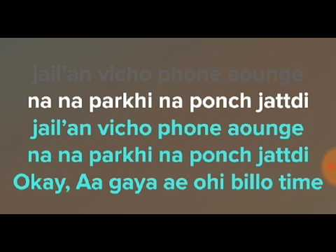 JAIL-MANKIRT AULAKH - LYRICS VIDEO SONG -...