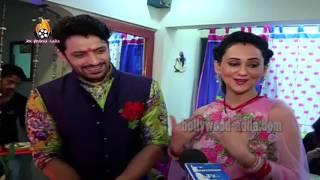 TV Star - Vikas & Gunjan - Ganpati Visarjan 2015 - Juhu beach Mumbai !!!