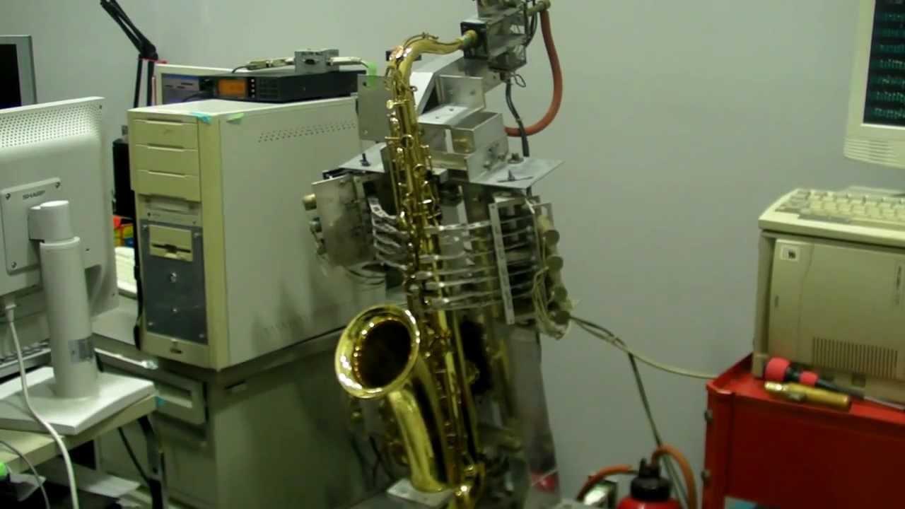 Sax Robot Coltron -Cherokee -