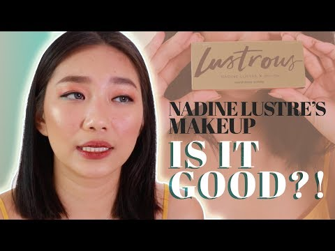 NADINE LUSTRE'S MAKEUP LINE FULL REVIEW | Raiza Contawi