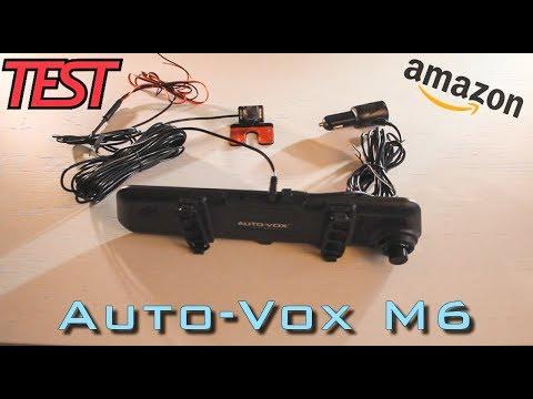 [TEST DASHCAM] 🇫🇷 Dashcam Rétroviseur AUTO-VOX M6 Sur Amazon 🇫🇷