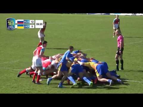 REC U18 Russia vs Ukraine 08 04 2017