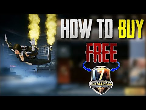 HOW TO BUY SEASON 7 ELITE ROYAL PASS IN PUBG MOBILE ! GET 600 FREE UC CASH