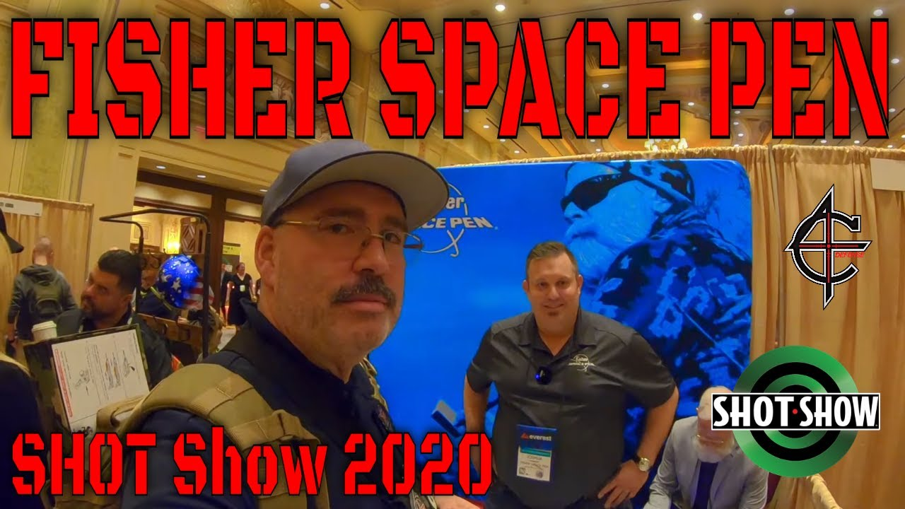 Fisher Space Pen SHOT Show 2020